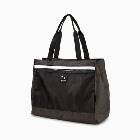Street Large Women's Shopper, Puma Black, small-IND