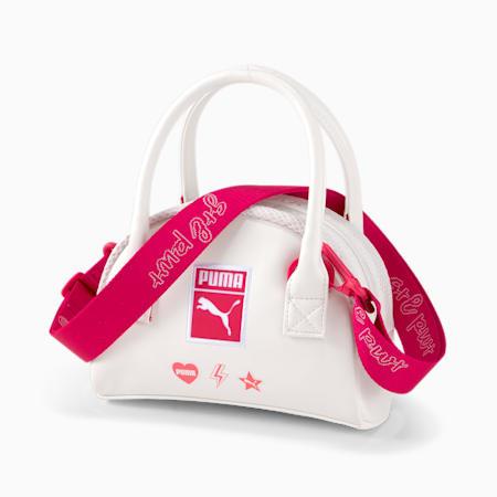 Galentine's Mini Women's Grip Bag, Puma White, small-SEA