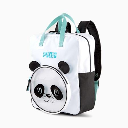 Animals Youth Backpack, Puma White-PANDA, small-GBR