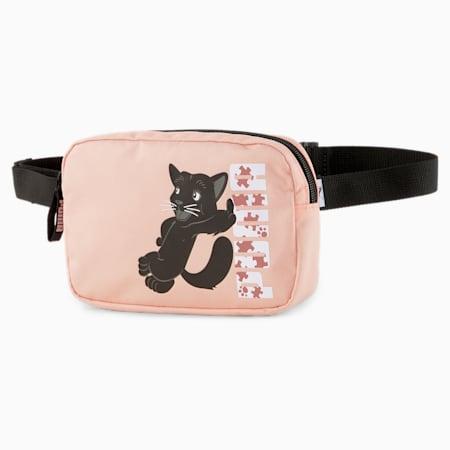 Animals Youth Waist Bag, Apricot Blush-PANTHER, small-SEA