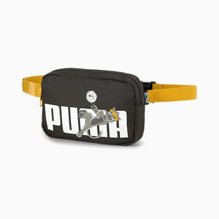 キッズ アニマルズ ウエスト バッグ 1L, Puma Black-PUMA, small-JPN