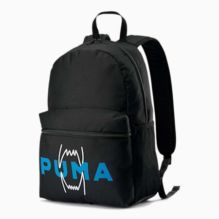 Mochila para básquetbol, Puma Black, pequeño