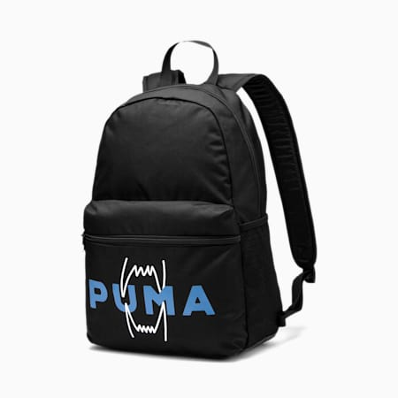 Basketball Backpack, Puma Black, small-SEA