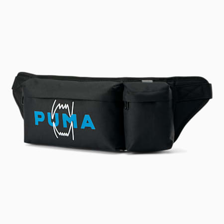 Basketball Multi Waist Bag, Puma Black, small