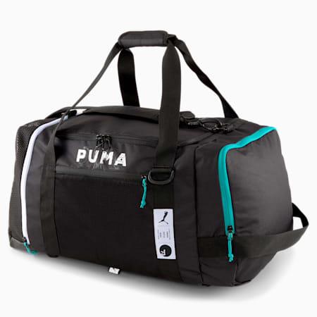 Pro Basketball Duffel Bag, Puma Black, small