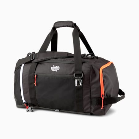 Pro Basketball Duffle Bag, Puma Black, small