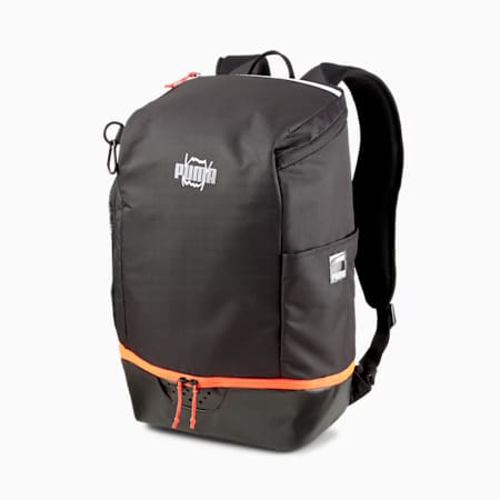 Pro Basketball Backpack, Puma Black, small