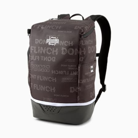 Basketball Pro Unisex Backpack, Puma Black, small-IND