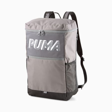 EvoEssentials Box Backpack, CASTLEROCK, small