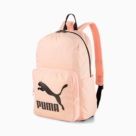 Originals Urban Backpack, Apricot Blush-Puma Black, small-SEA