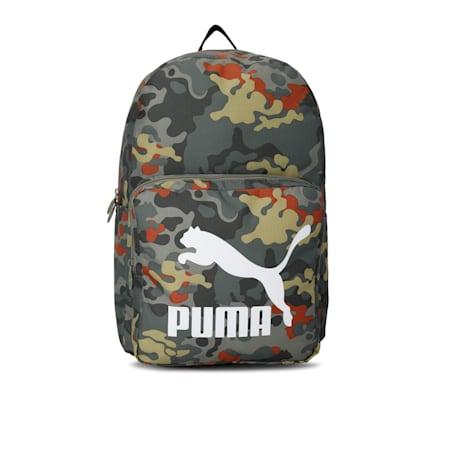 Originals Urban Backpack, Deep Lichen Green-Camo AOP, small-IND