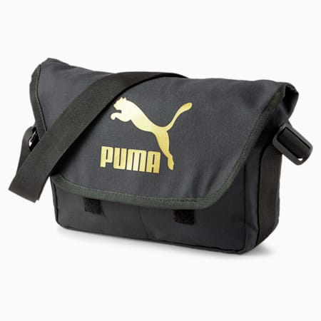 Originals Urban Messenger, Puma Black-Gold, small