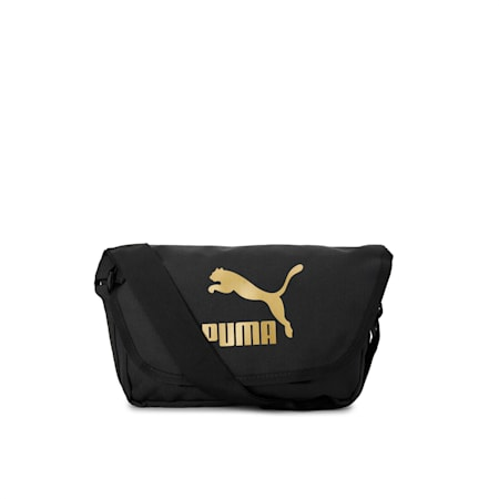 Originals Urban Messenger, Puma Black-Gold, small-IND