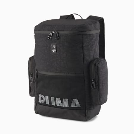 EvoPLUS Box Backpack, Puma Black, small
