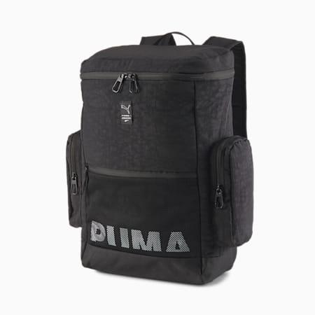 EvoPLUS Box Backpack, Puma Black, small-SEA