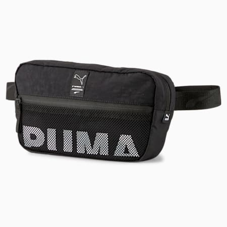 EvoPLUS Crossbody Waist Bag, Puma Black, small-SEA