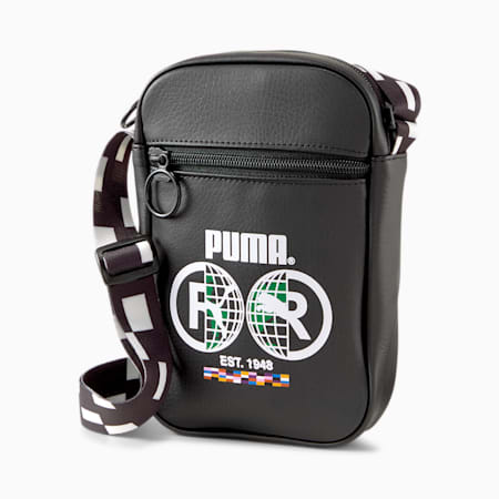 PUMA International Compact Portable Bag, Puma Black, small-GBR