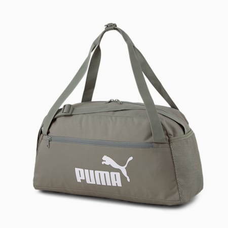 PUMA Phase Unisex Sports Bag, Ultra Gray, small-IND