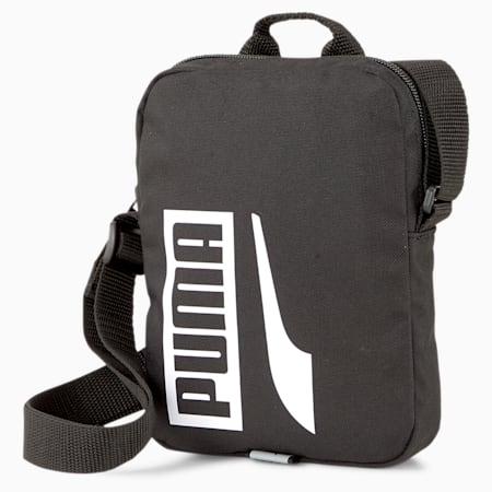 Plus Portable II Shoulder Bag, Puma Black, small-IND