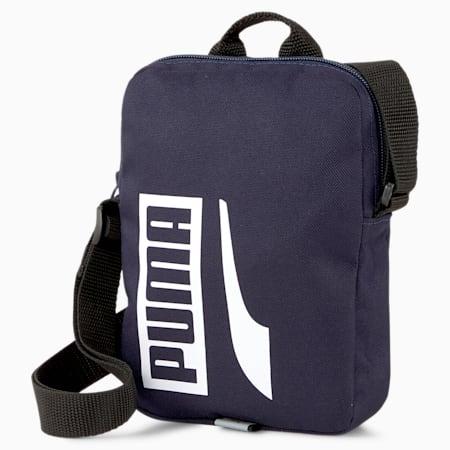 Plus Portable II Shoulder Bag, Peacoat, small-IND