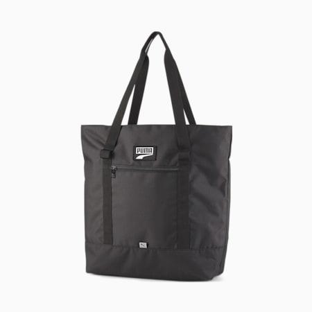 Deck Tote 백/PUMA Deck Tote Bag, Puma Black, small-KOR
