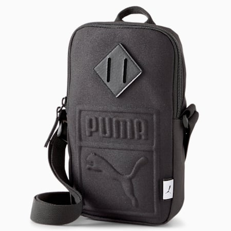 Portable Shoulder Bag, Puma Black, small