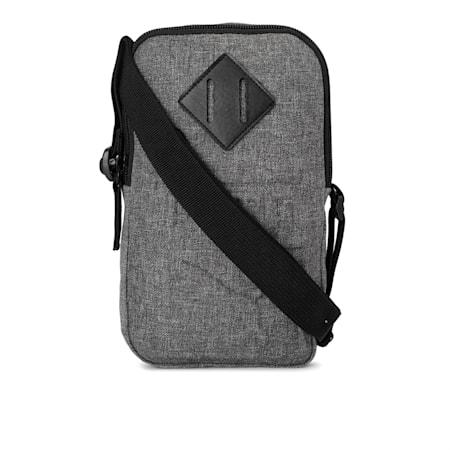 PUMA Portable Unisex Shoulder Bag, Medium Gray Heather, small-IND