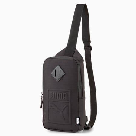 PUMA S Crossbody Bag, Puma Black, small-SEA