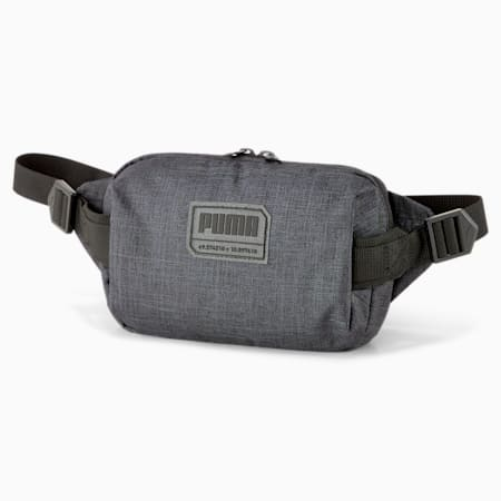 City Waist Bag, Puma Black Heather, small