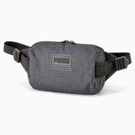 PUMA City Waist Bag, Puma Black Heather, small