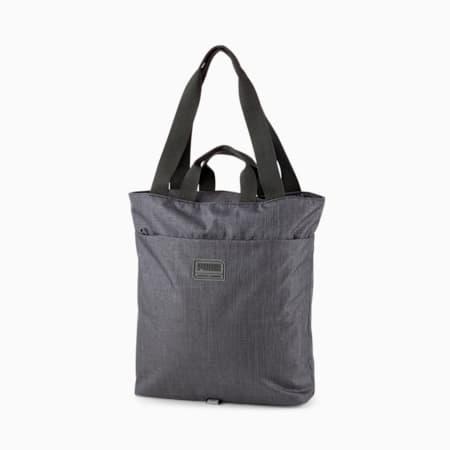 City Tote Bag, Puma Black Heather, small-SEA