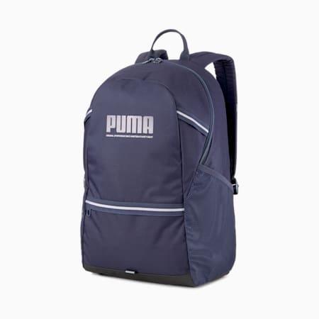 PUMA Plus Unisex Backpack, Peacoat, small-IND
