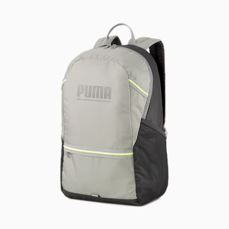 Plus Backpack, Ultra Gray-Puma Black, small-IND