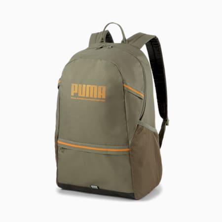 PUMA Plus Unisex Backpack, Grape Leaf, small-IND