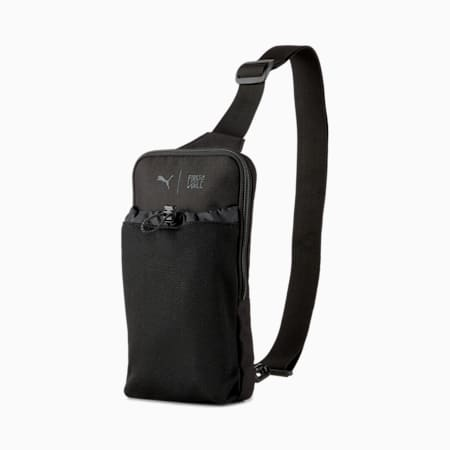 PUMA x FIRST MILE Cross-Body Training Bag, Puma Black, small-SEA
