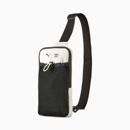 PUMA x FIRST MILE Cross-Body Training Bag, Eggnog, small-GBR