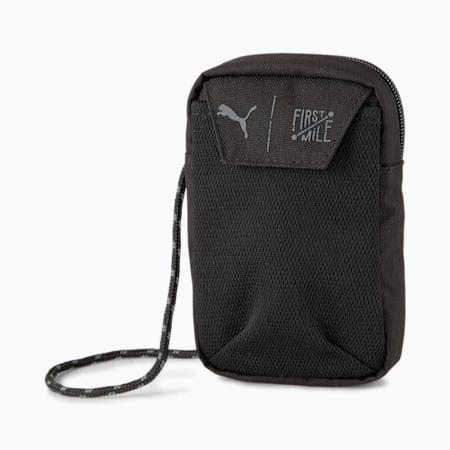 PUMA x FIRST MILE Training Neck Wallet, Puma Black, small