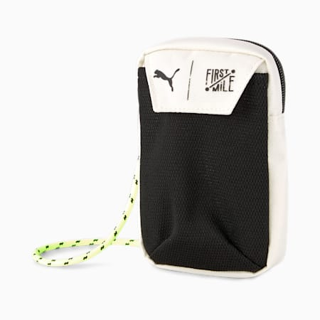 PUMA x FIRST MILE Training Neck Wallet, Eggnog, small