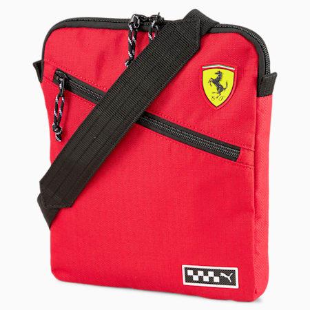 Scuderia Ferrari Shoulder Bag, Rosso Corsa, small-SEA