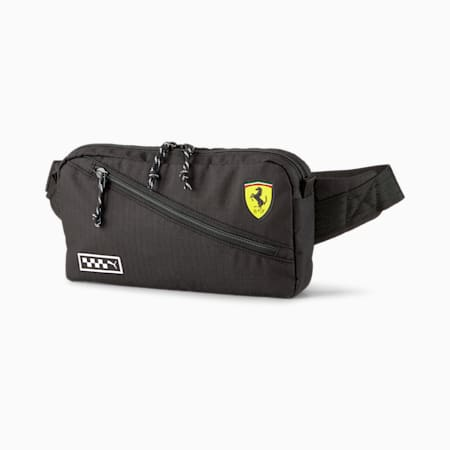 Scuderia Ferrari Waist Bag, Puma Black, small