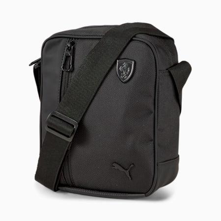 Scuderia Ferrari Portable Shoulder Bag, Puma Black, small-IND