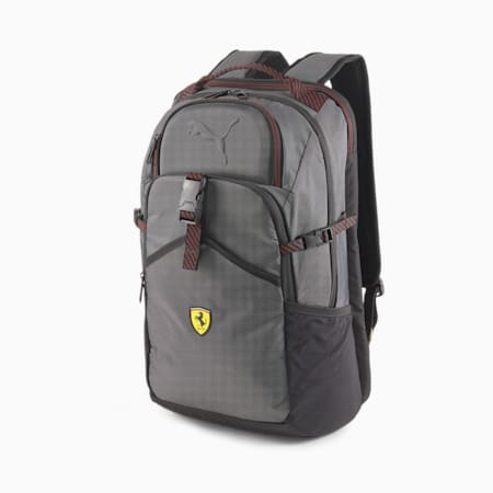 Mochila deportivaScuderia Ferrari RCT, Puma Black, pequeño