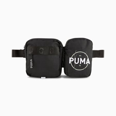 Basketball Waist Bag, Puma Black, small