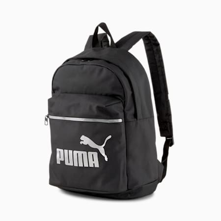 College Women's Backpack, Puma Black, small-IND