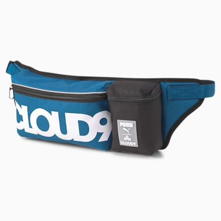PUMA x CLOUD9 Multi Waist Bag, Digi-blue, small-SEA