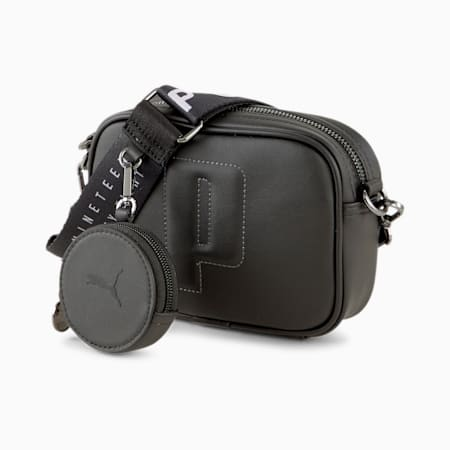 PUMA Sense Women's Cross Body Bag, Puma Black, small-IND
