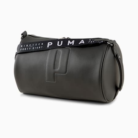 PUMA Sense Women's Barrel Bag, Puma Black, small-IND