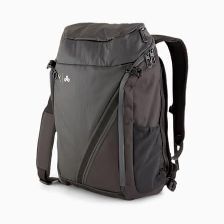 PUMA x CLOUD9 Player Backpack, Puma Black-Hawaiian Ocean, small