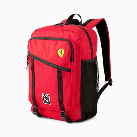 Scuderia Ferrari Sportswear Backpack, Rosso Corsa, small