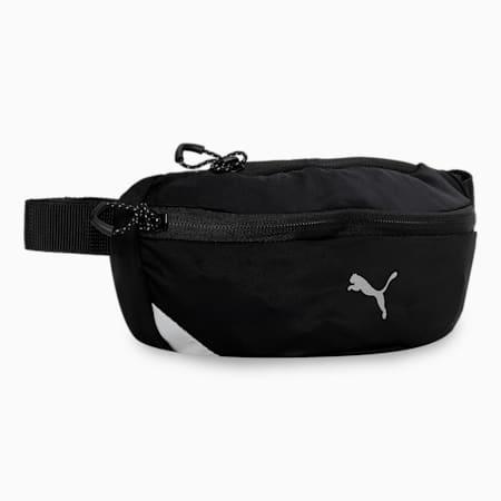 PR Classic Unisex Running Waist Bag, Puma Black, small-IND
